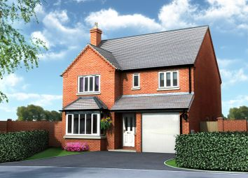 Thumbnail 4 bed detached house for sale in Plot 1, Old Hall Fields, Wellington, Telford