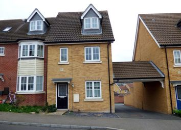 Thumbnail 3 bedroom end terrace house to rent in Partridge Close, Stowmarket