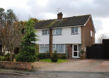 Thumbnail 3 bed semi-detached house to rent in Whopshott Drive, Horsell, Woking