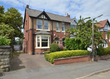Thumbnail 5 bed semi-detached house for sale in Thornsett, Avenue Road, Duffield, Derbyshire