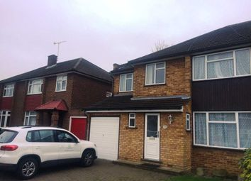 Thumbnail 5 bed semi-detached house to rent in Stanley Close, Gidea Park, Romford