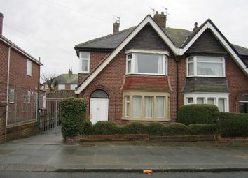 Thumbnail 3 bed semi-detached house to rent in Inver Road, Blackpool