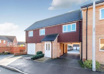 Thumbnail 2 bed terraced house for sale in Chorister Crescent, Hoo, Rochester