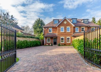 Thumbnail 5 bed semi-detached house for sale in Old Avenue, St. Georges Hill, Weybridge
