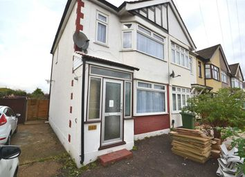 Thumbnail 3 bed semi-detached house to rent in Upminster Road South, Rainham