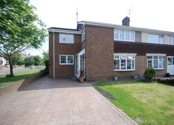 Thumbnail 4 bed semi-detached house for sale in Cheviot Road, Monkton Village, Jarrow