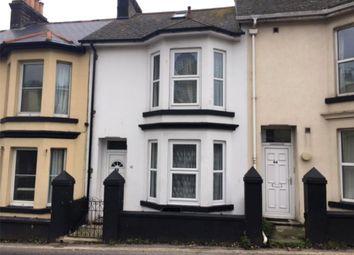 Thumbnail 3 bed terraced house to rent in Burton Street, Brixham, Devon