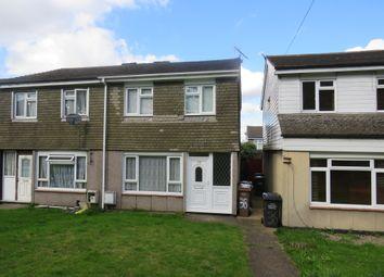 Thumbnail 3 bedroom semi-detached house for sale in Hurlock Way, Luton
