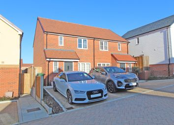 Thumbnail 3 bed semi-detached house for sale in Sorrel Place, Stone Cross, Pevensey