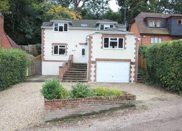 Thumbnail 4 bed detached house to rent in College Lane, Hook Heath, Woking
