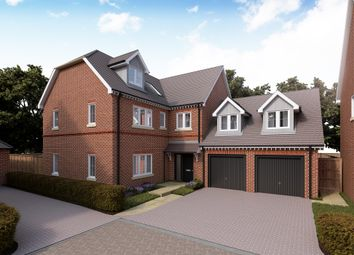 Thumbnail 5 bed detached house for sale in Cambridge Road, Quendon, Essex