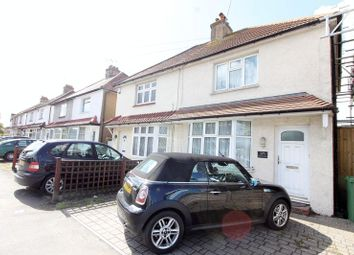 Thumbnail 2 bed semi-detached house for sale in Gander Green Lane, North Cheam, Sutton