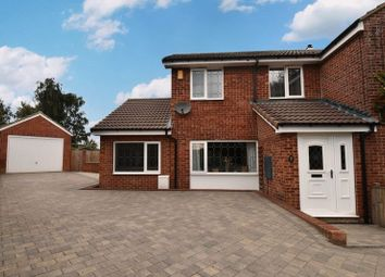 Thumbnail 4 bed semi-detached house for sale in Willowgarth, Durkar, Wakefield
