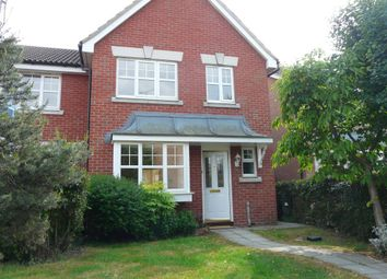 Thumbnail 3 bed end terrace house to rent in Grosvenor Road, Rayleigh