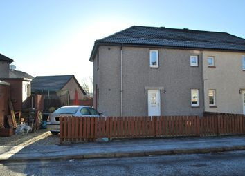 Thumbnail 3 bed semi-detached house for sale in Bruce Drive, Stenhousemuir