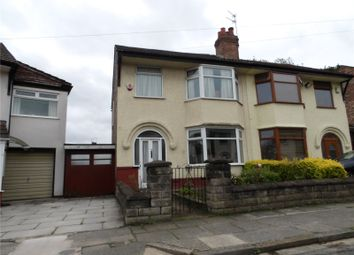 Thumbnail 3 bed semi-detached house for sale in Alvanley Road, West Derby, Liverpool, Merseyside