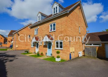 Thumbnail 3 bed semi-detached house for sale in Jubilee Way, Crowland, Peterborough