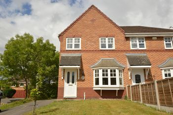 Thumbnail 3 bed semi-detached house to rent in Coleridge Close, Sandbach, Cheshire