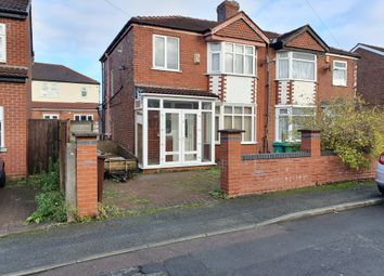 Thumbnail 3 bed semi-detached house to rent in Gatling Avenue, Manchester