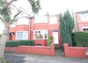 Thumbnail 3 bed semi-detached house for sale in Grange Avenue, Stretford, Manchester