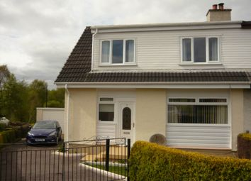 Thumbnail 3 bedroom semi-detached house for sale in 9 Clachan Beag, Strachur, Cairndow