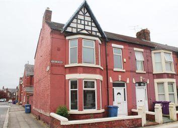 Thumbnail 4 bedroom end terrace house for sale in Salisbury Road, Wavertree, Liverpool, Merseyside