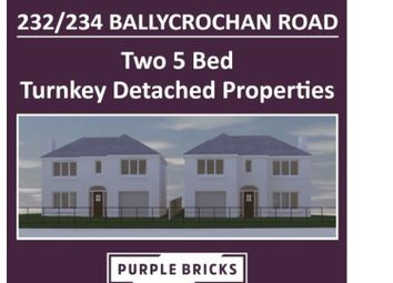 Thumbnail 5 bed detached house for sale in Ballycrochan Road, Bangor