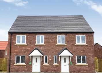 Thumbnail 3 bed semi-detached house for sale in Melton Road, Waltham On The Wolds, Melton Mowbray