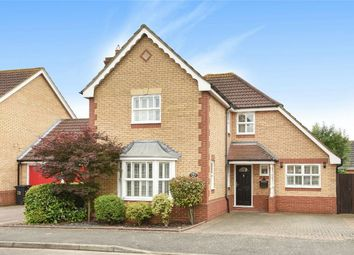 Thumbnail 4 bed detached house for sale in Denton Drive, Marston Moretaine, Bedford