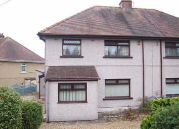 Thumbnail 3 bedroom semi-detached house for sale in Llanerch Crescent, Gorseinon, Swansea