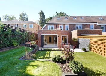 Thumbnail 4 bed end terrace house for sale in Cavendish Road, Weybridge, Surrey