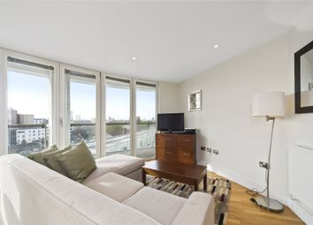 Thumbnail 1 bed flat to rent in Trinity Tower, Quadrant Walk, London
