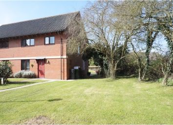 Thumbnail 3 bedroom semi-detached house for sale in Chestnut Road, Pulham St Mary