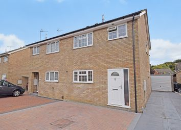 Thumbnail 3 bed semi-detached house for sale in Langney Drive, Ashford