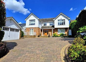 Thumbnail 4 bed detached house for sale in Hill Road, Theydon Bois, Essex