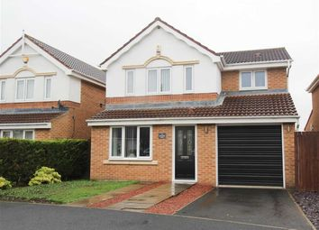 Thumbnail 3 bed detached house for sale in Longhirst Drive, Southfield Gardens, Cramlington