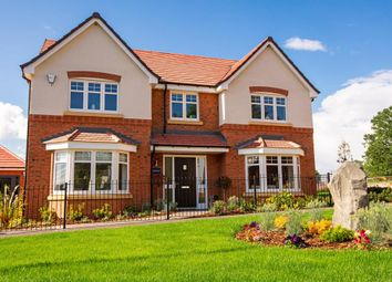 "Thumbnail 5 bed detached house for sale in ""Honeybourne"" at Halam Road, Southwell"
