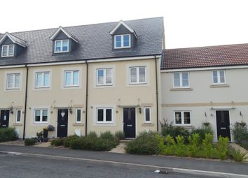 Thumbnail 3 bed terraced house to rent in Sherbourne Drive, Old Sarum, Salisbury