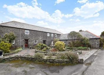 Thumbnail 5 bed barn conversion for sale in Boscastle, Cornwall