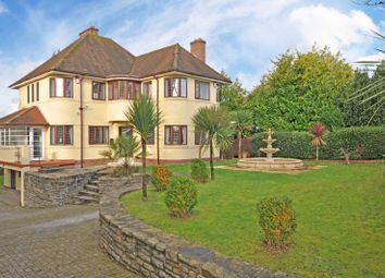 Thumbnail 5 bed detached house for sale in Exceptional Family Home, Ridgeway, Newport