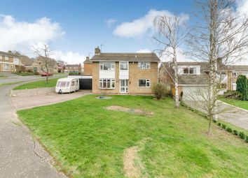 Thumbnail 4 bed detached house for sale in The Downs, Wellingborough