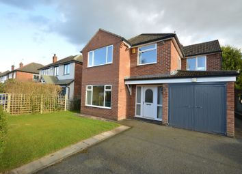 Thumbnail 4 bed detached house for sale in Meadow Drive, Knutsford
