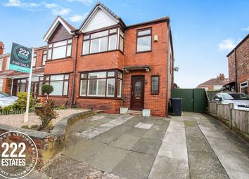 Thumbnail 3 bed semi-detached house for sale in Rydal Avenue, Warrington