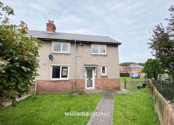 Thumbnail 3 bed semi-detached house for sale in Heol Bennion, Cefn Mawr, Wrexham