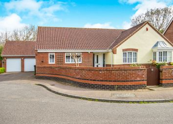 Thumbnail 3 bed detached bungalow for sale in Birch Close, Little Melton, Norwich