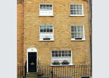 Thumbnail 3 bed terraced house for sale in Medway Street, London
