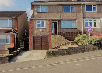 Thumbnail 4 bed semi-detached house for sale in Lansdowne Road, Newport
