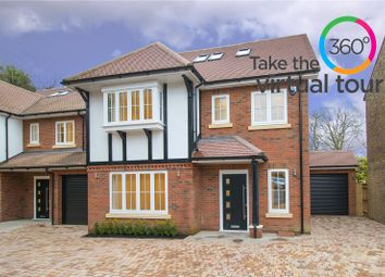 Thumbnail 4 bed link-detached house for sale in Rosebery Road, Bushey