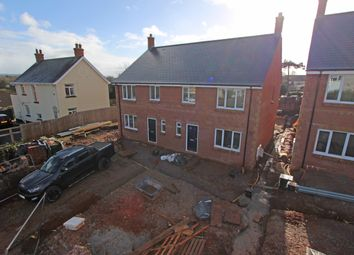 Thumbnail 4 bedroom semi-detached house for sale in Plot 3, The Firs, Cullompton