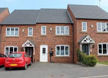 Thumbnail 3 bed terraced house for sale in Lakeshore Crescent, Whitwick, Coalville